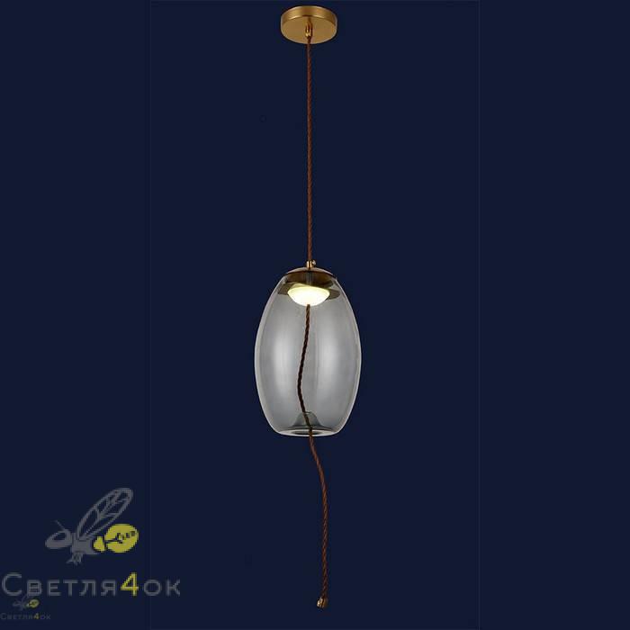 Светильник подвесной лофт 91628-1LED 4W BL