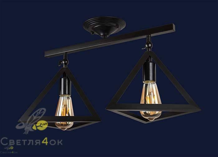 Светильник 756XPR220F-2 BK