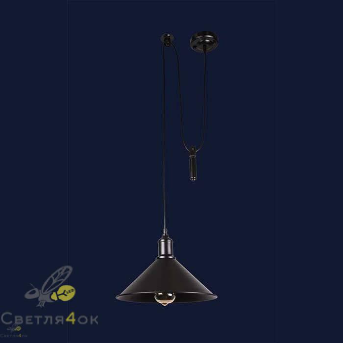 Светильник 7526855F-1G BK(300)