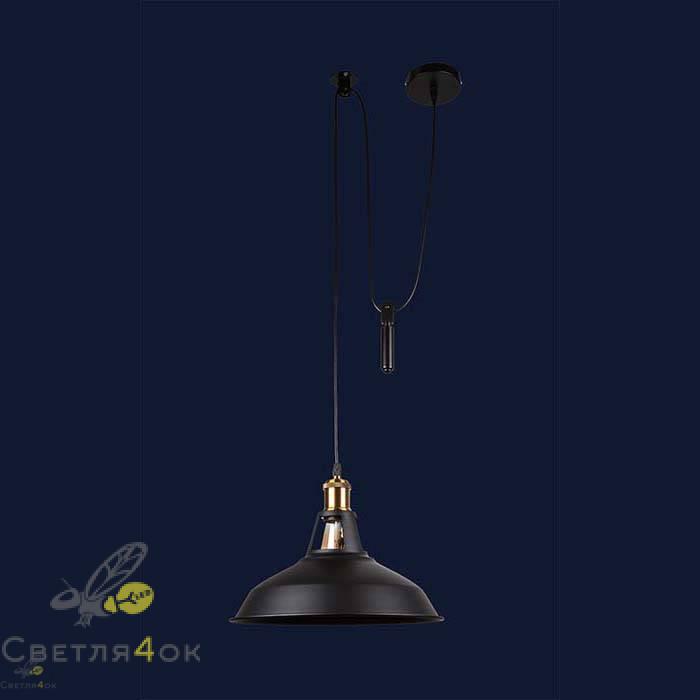 Светильник 7526857F-1G BK(310)