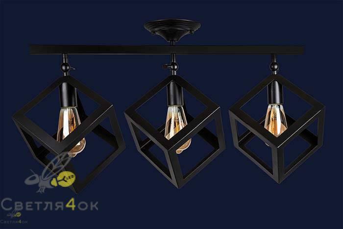 Светильник 756XPR160F-3 BK