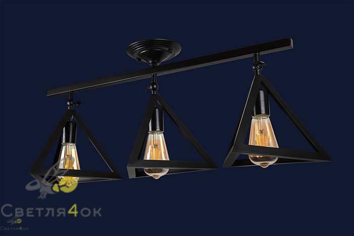 Светильник 756XPR220F-3 BK
