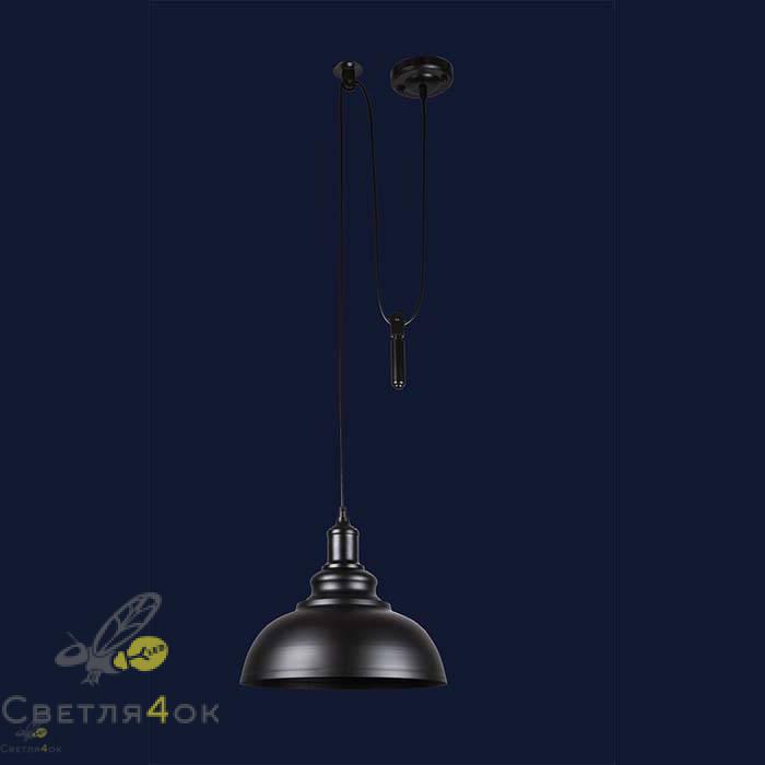Светильник 7526858F-1G BK