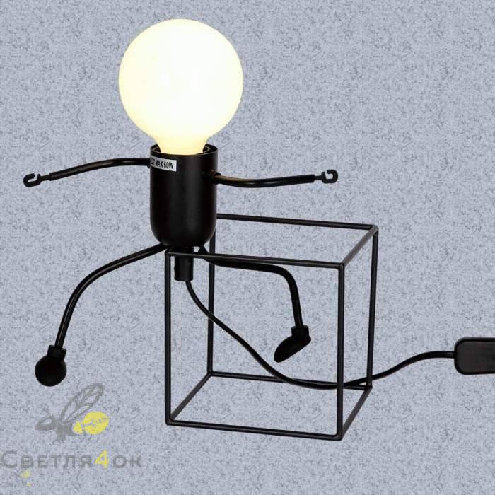 Настольний светильник 720T26016-W12 BK