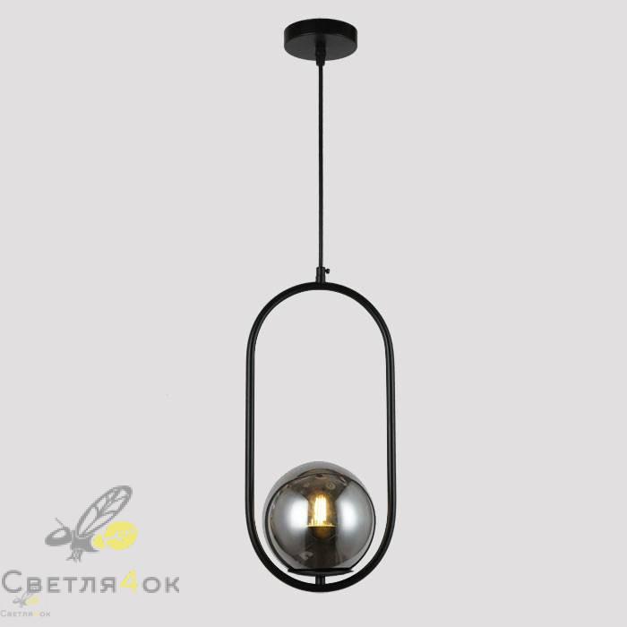 Подвесной светильник 91639-1 BK+BK
