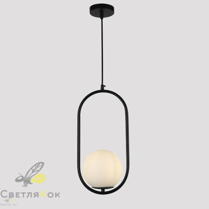 Подвесной светильник 91639-1 BK+WH