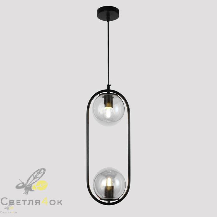 Подвесной светильник 91638-2 BK+CL