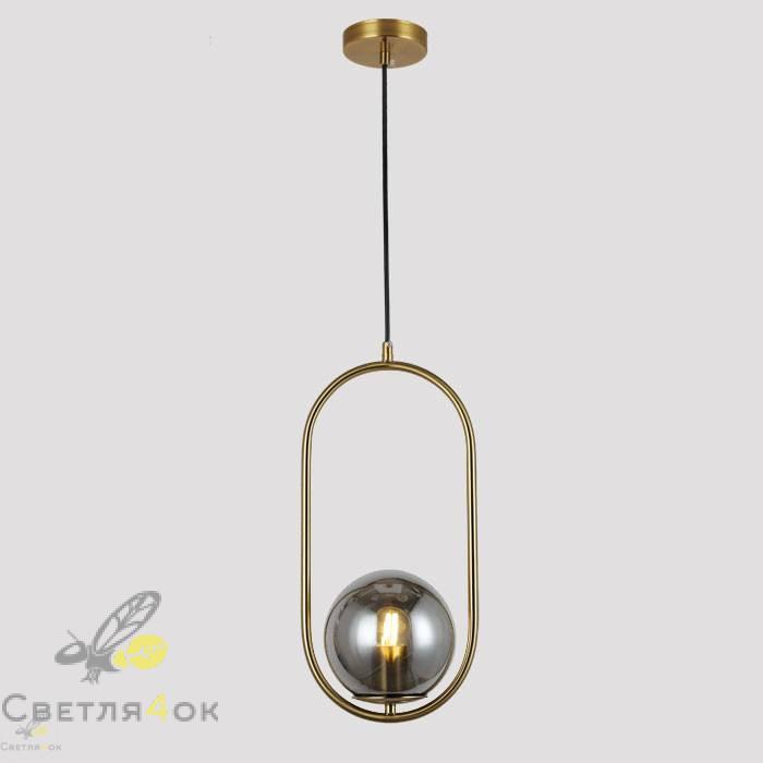 Подвесной светильник 91639-1 BRZ+BK