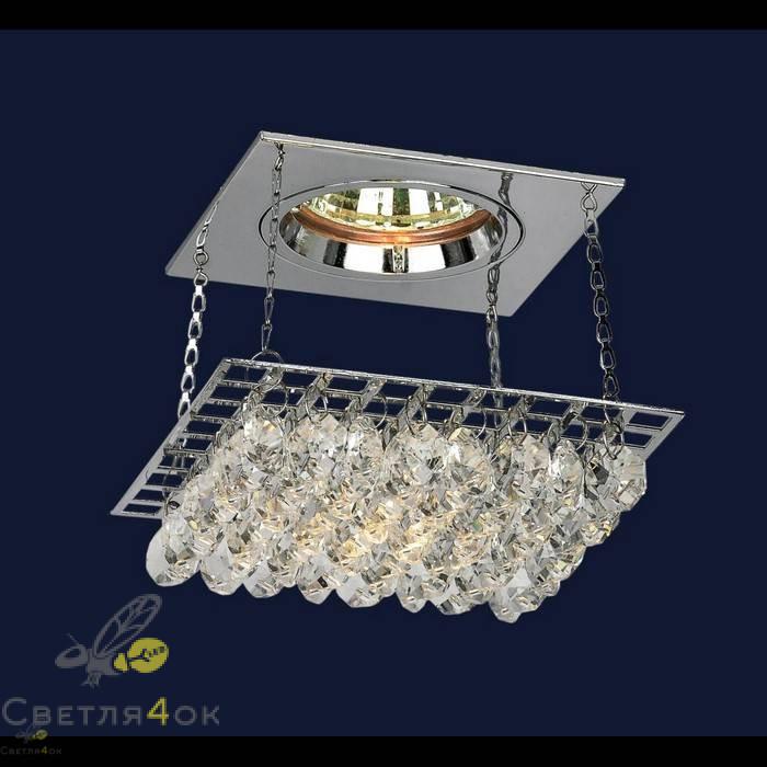 Хрустальный светильник 712A2019 CH/CL