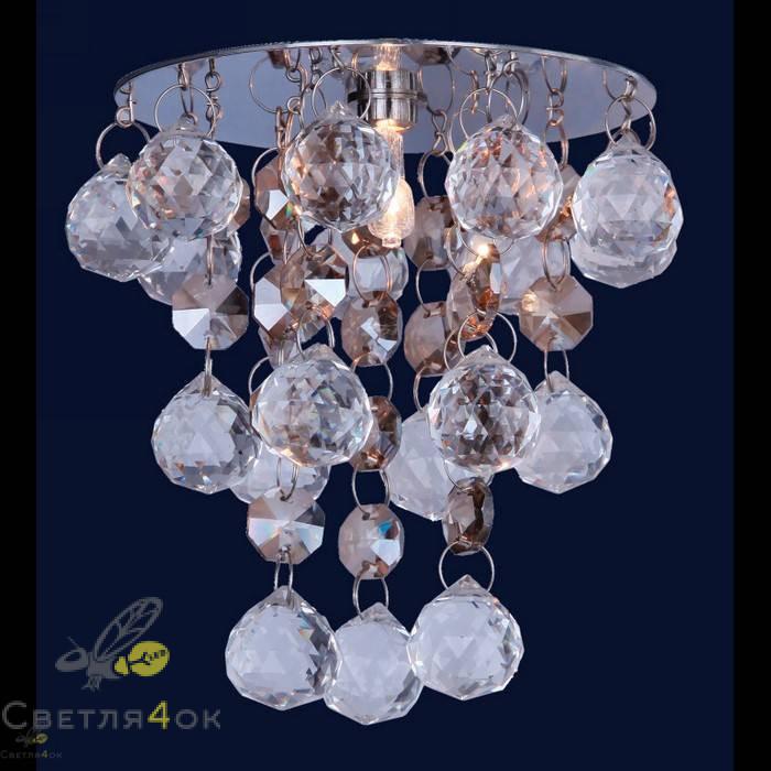 Хрустальный светильник 712A2075 CH/CHAMP+CL