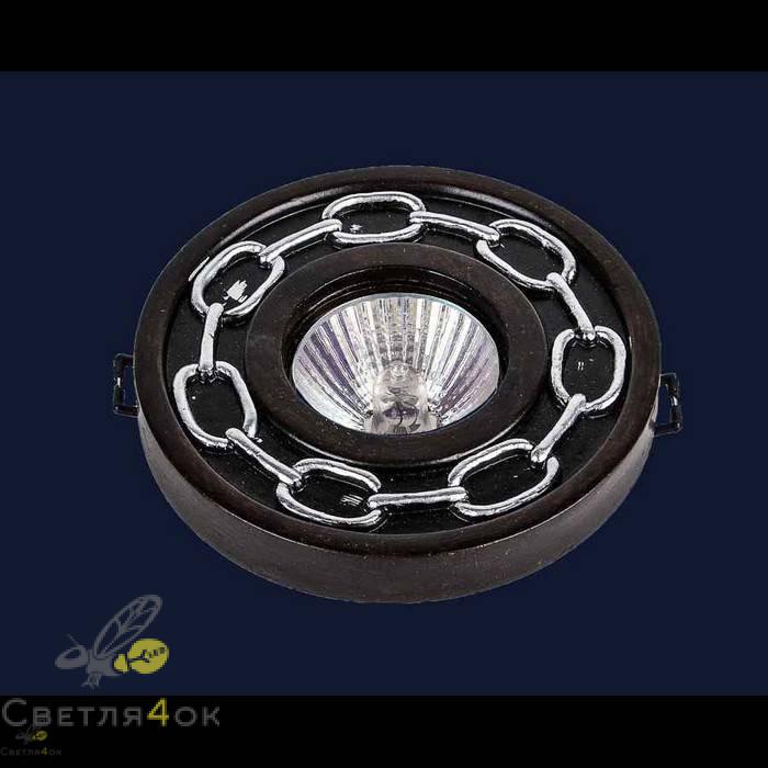 Точечный светильник 732M7046 WOOD+SL