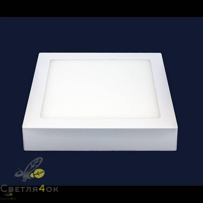 Точечный светильник 745SM-18W (квадрат) холодный