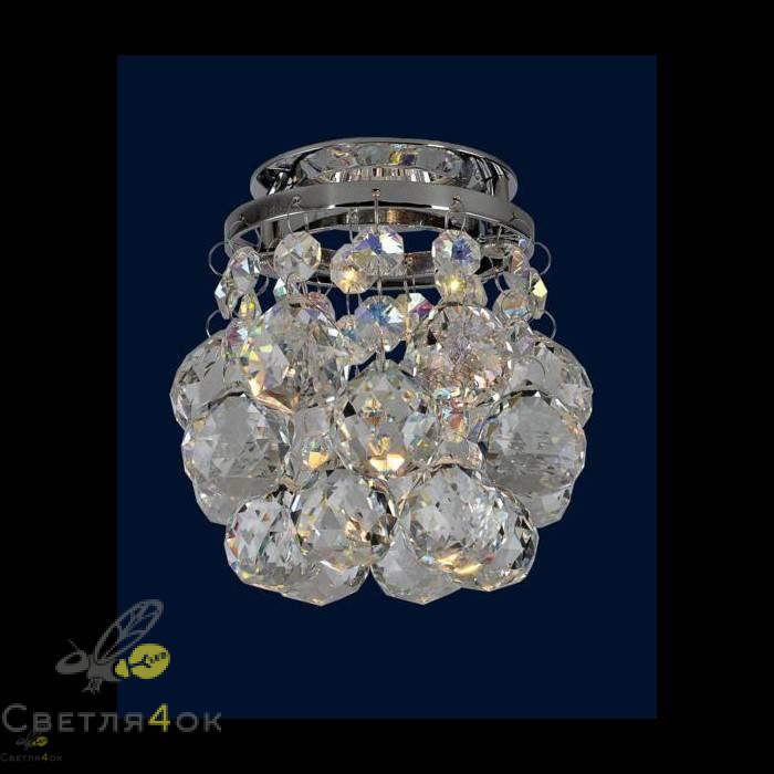 Хрустальный светильник 712A2033 CH/RBG+CL