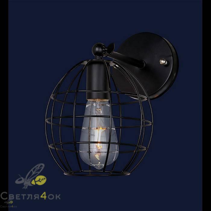 Светильник в стиле Лофт 707W107-1 BK