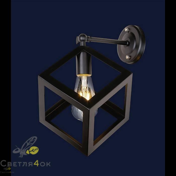 Светильник в стиле Лофт 707W136-1 BK