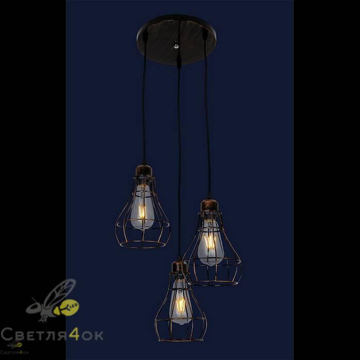 Светильник в стиле Лофт 746WXA027-3