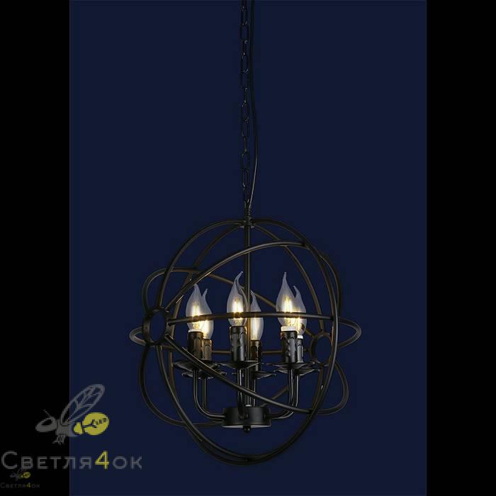 Светильник в стиле Лофт 7527318-6 BK