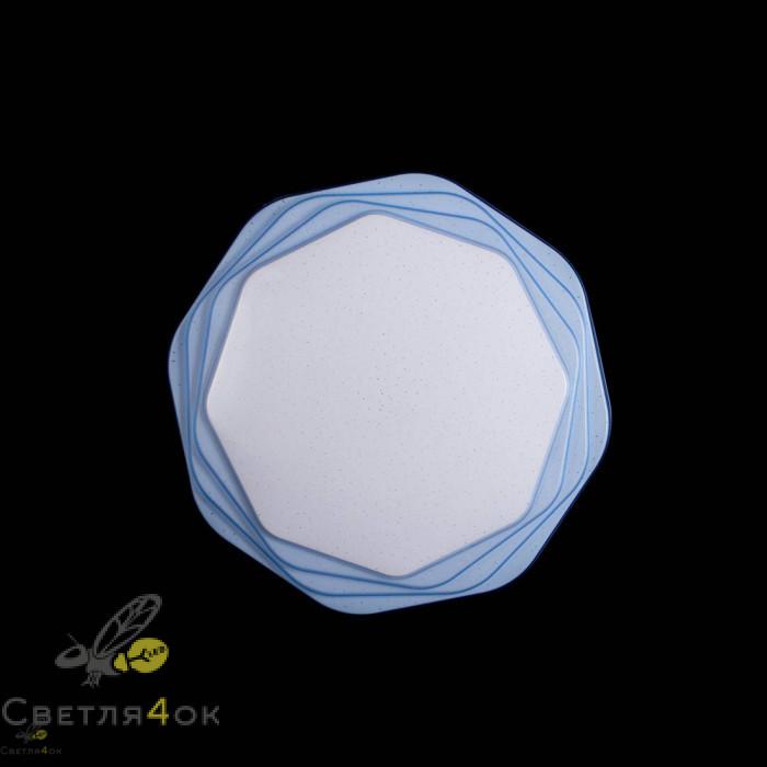 Люстра Светодиодная SC-8136/500 BU+WH DIMMER