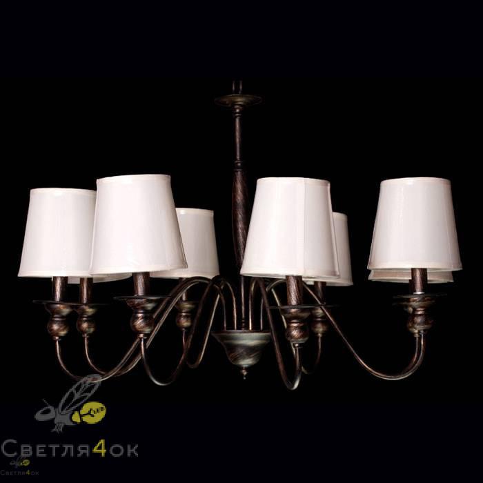 Люстра классическая Прованс 6026-8 Brown